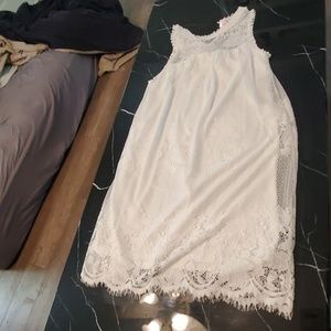 White lace dress (never worn)